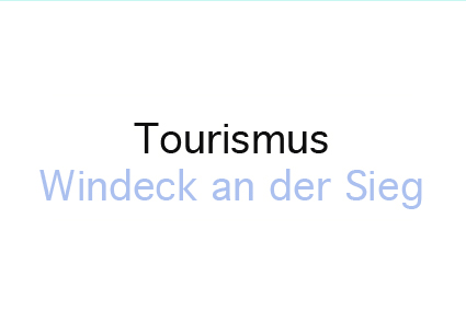 Tourismus Windeck Text